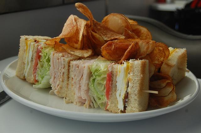 Club sandwich | © stu_spivack/Flickr
