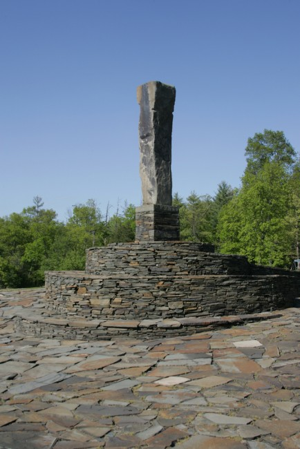 Center Monument at Opus 40 | © Dennis W Donohue/Shutterstock
