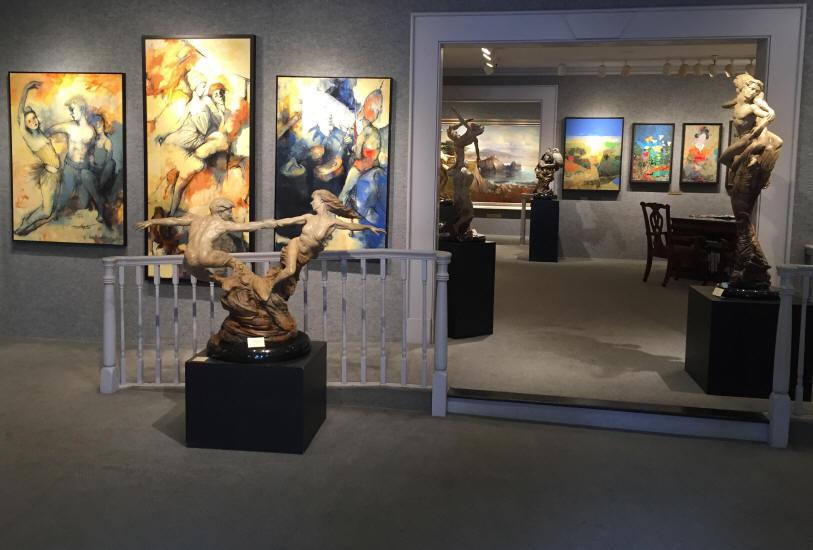 Gallery Floor ©Jones & Terwilliger Gallery
