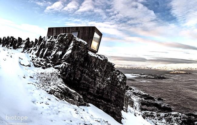 Kongsfjord Wind Shelter & Bird Hide | © Courtesy of biotope
