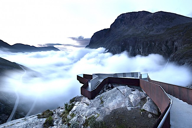 Trollstigen Visitor Centre Architects | © Courtesy of Reiulf Ramstad Architects
