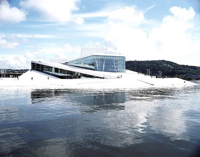 Norwegian National Opera and Ballet | © Courtesy of Snøhetta