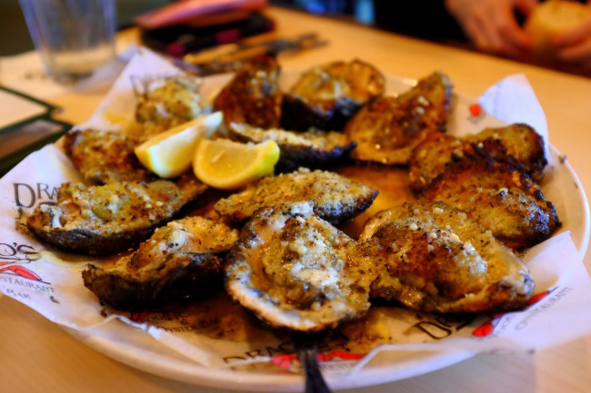 Drago's Grilled Oysters| ©leighklotz/flickr
