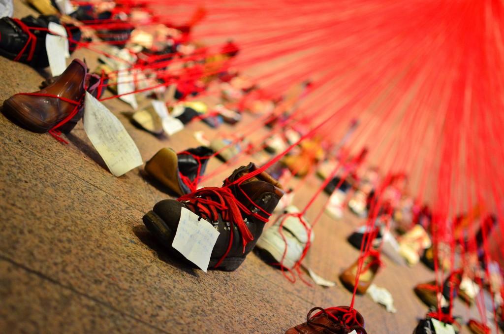 Perspectives: Chiharu Shiota   © Amanjeev/Flickr