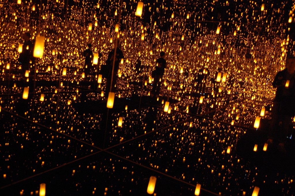 Yayoi Kusama, Aftermath of Obliteration of Eternity [Installation view], 2009   © Andrew Russeth/Flickr