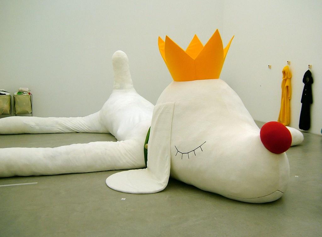 Pup King - Yoshitomo Nara + graf   © sprklg/Flickr