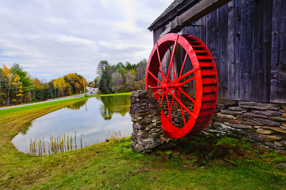Red Mill in Bennington County © Alaz / Shutterstock