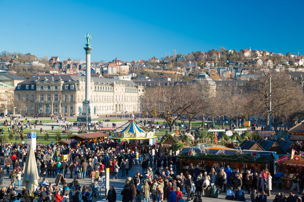 Annual Stuttgart Christmas market is one of the oldest in the world | © Sasa Komlen/Shutterstock