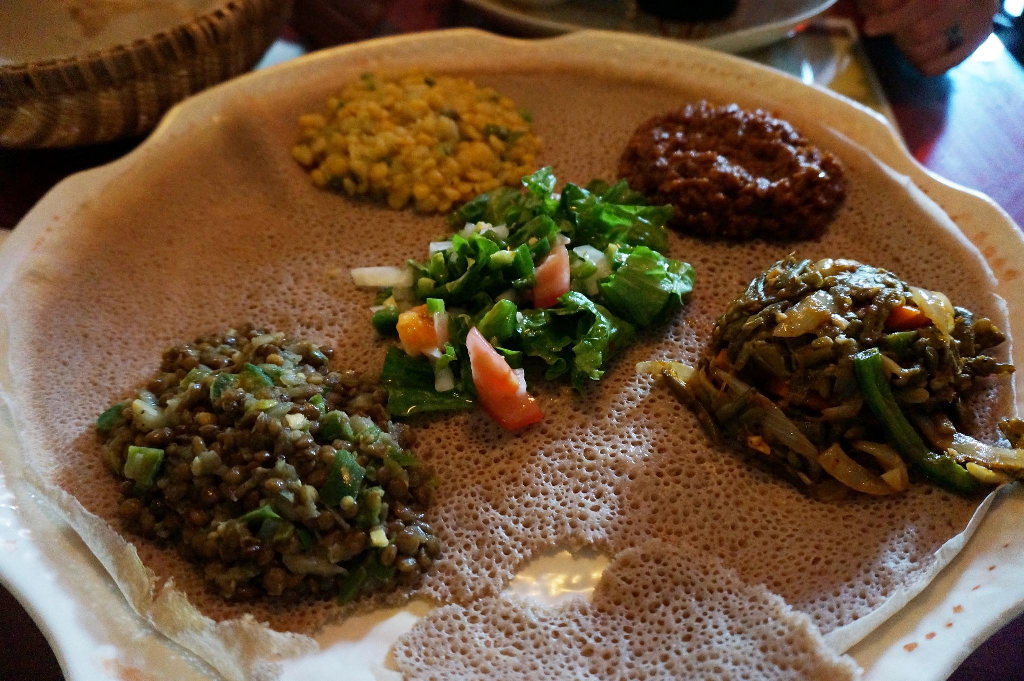 Ethiopian Food © Adam Dachis