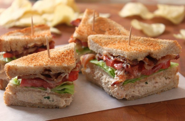 Club Sandwiches | © Michael Stern/Flickr