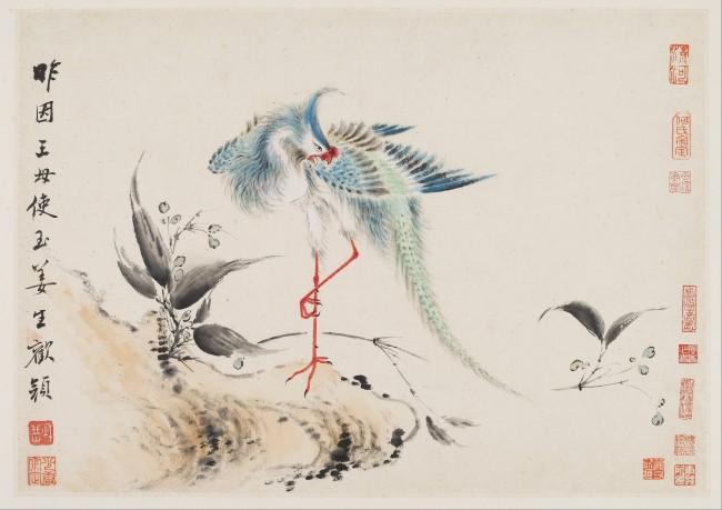 Birds and Flowers | © Hua Yan / WikiCommons