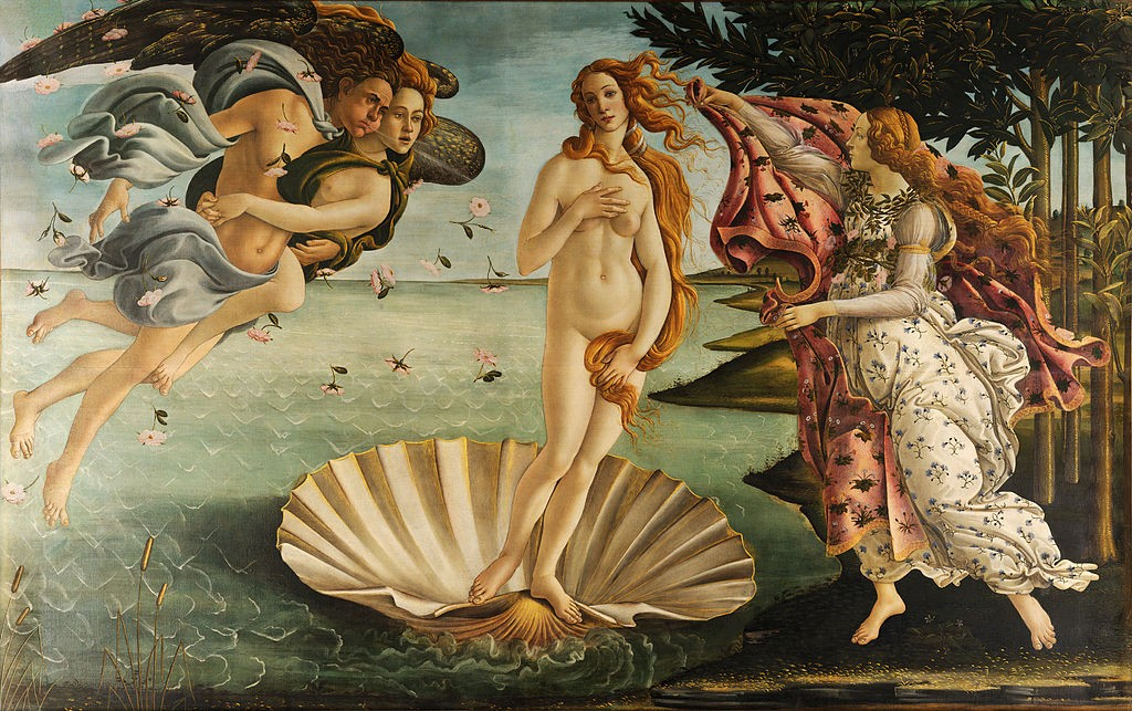 Sandro Botticelli, The Birth of Venus/ ©WikiCommons