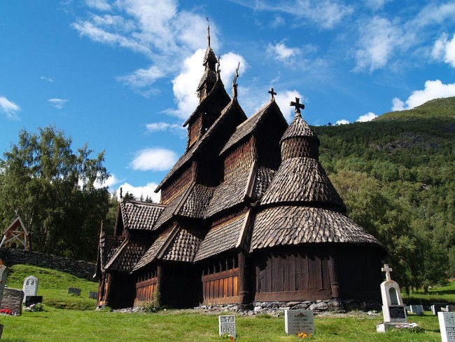 Borgrund Stave Church | © zoetnet/WikiCommons