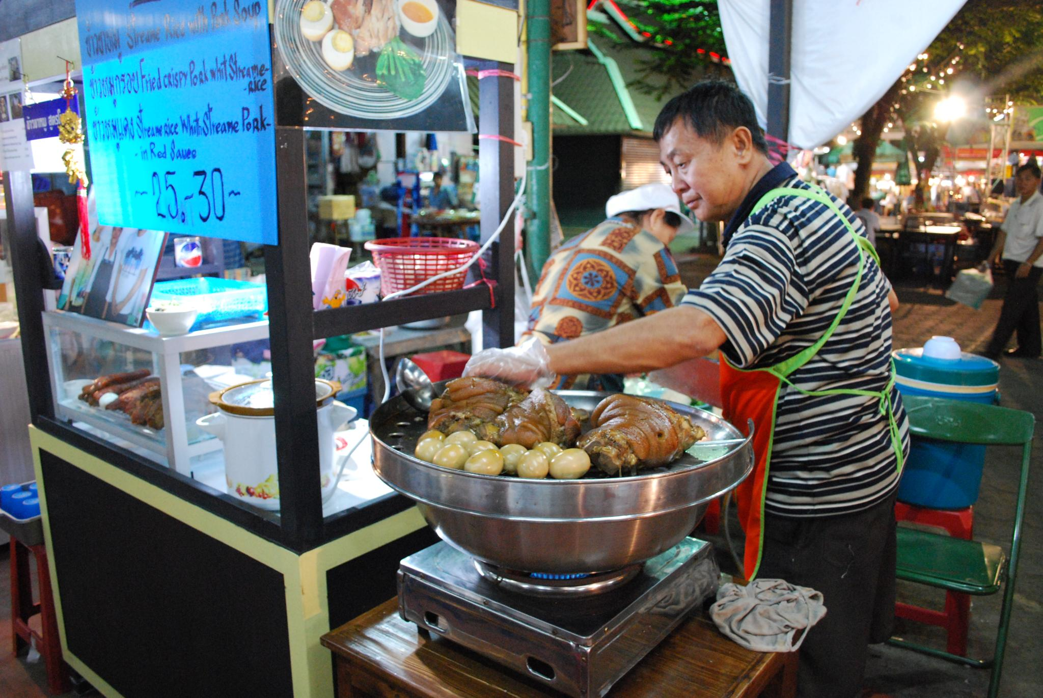 Thai Pork Leg and Eggs | © Alpha/Flickr