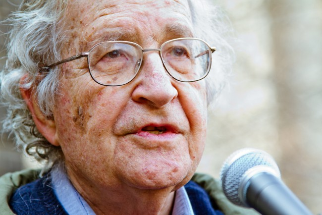 Noam Chomsky   © Andrew Rusk/Flickr