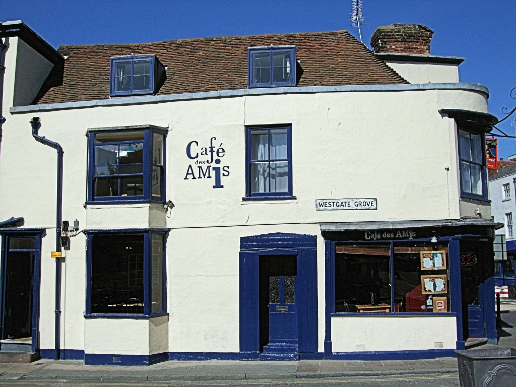 Cafe des Amis, Canterbury | ©Jim Linwood/Flickr