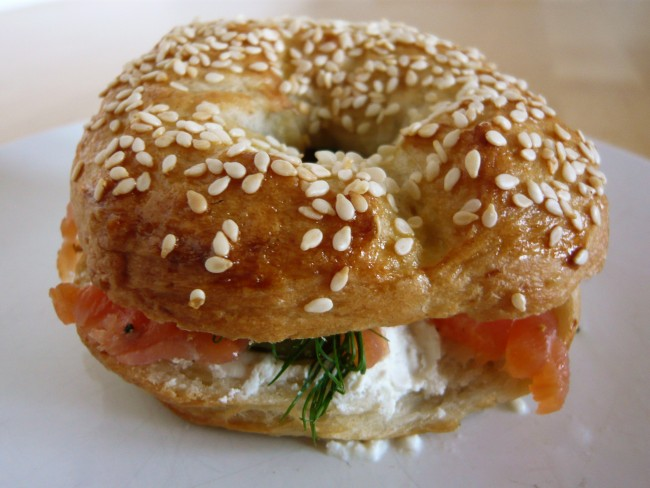 Smoked salmon and cream cheese| ©Jessica Spengler/Flickr
