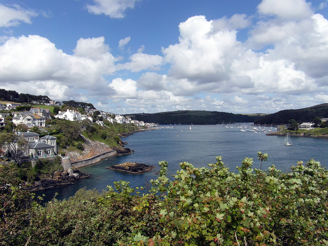 Fowey Harbour, Cornwall |© Reading Tom/Flickr