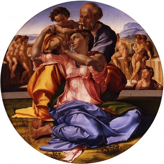 Michelangelo, 'Doni Tondo'/ ©WikiCommons