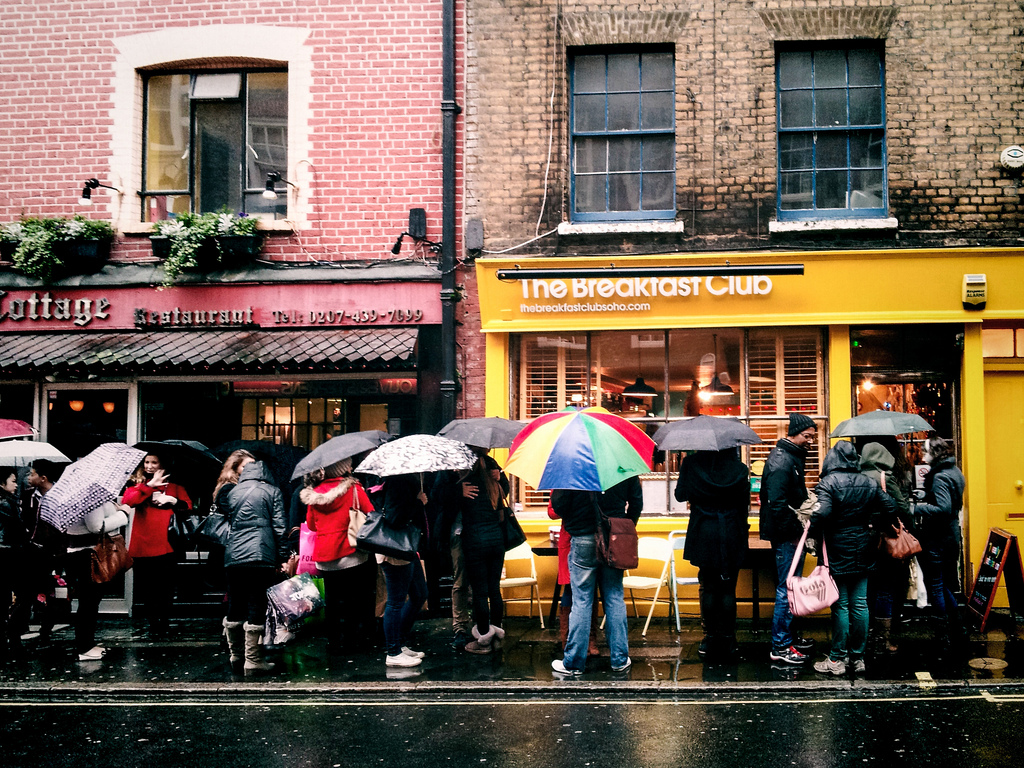 The Breakfast Club | © Garry Knight, Flikr