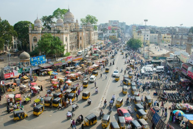 A view from the top of Charminar| ©cotaro70s/Flickr