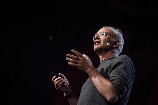 Peter Singer   © TED Conference/Flickr