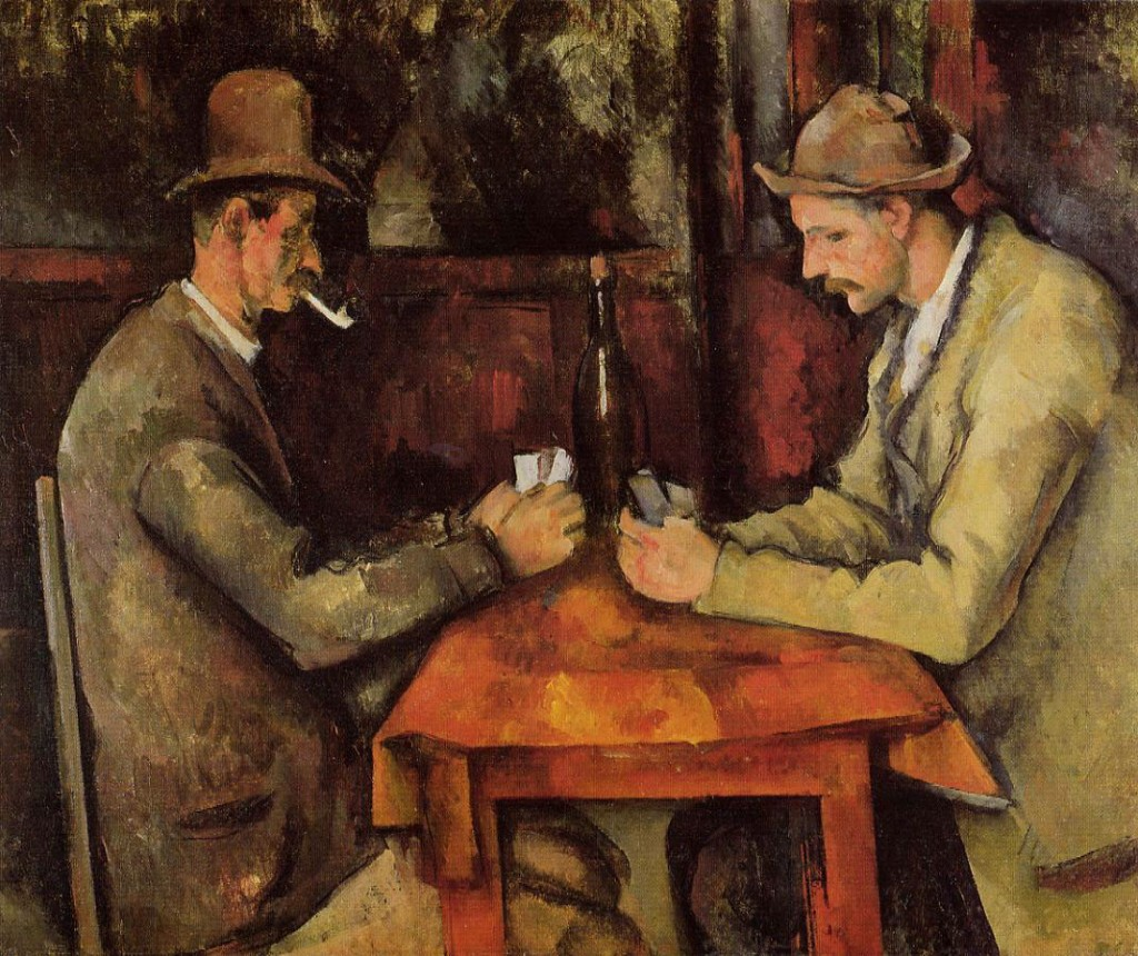 Card Players-Paul Cezanne | © http://www.the-athenaeum.org/art/full.php?ID=6371/WikICommons