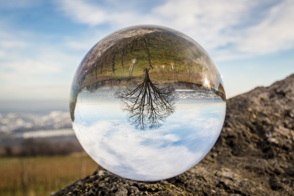 Crystal Ball - Cassadaga is home to a large psychic community.