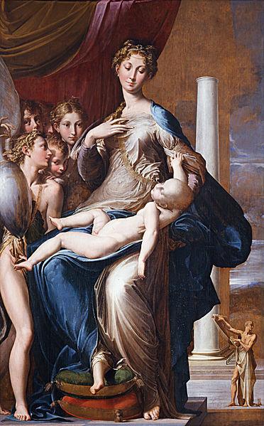 Parmigianino, Madonna Dal Collo Lungo/ ©WikiCommons