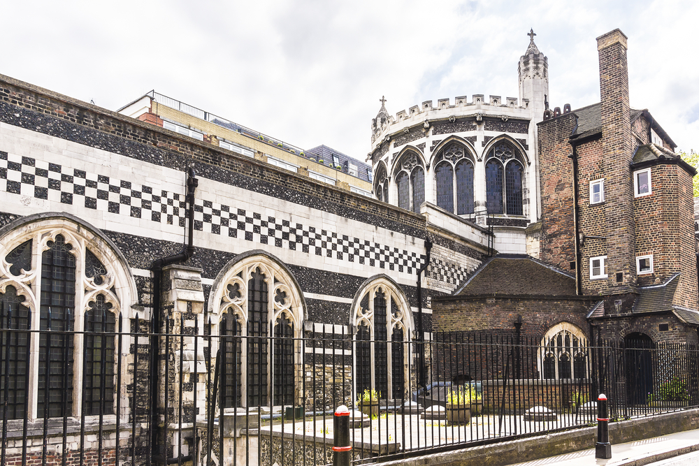 The Priory Church of St Bartholomew the Great (or Great St Barts) - Anglican church situated at West Smithfield in the City of London, UK| © Kiev.Victor/Shutterstock