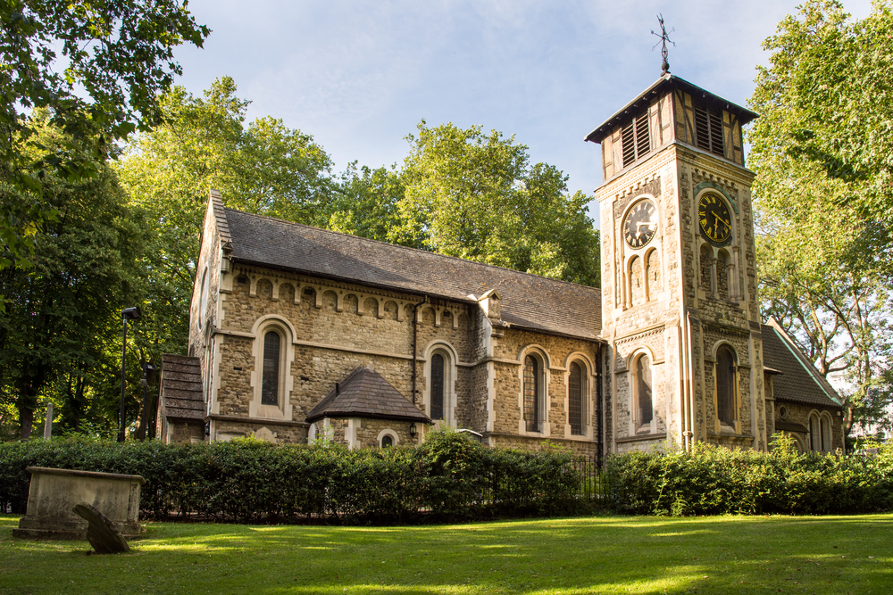 St Pancras Old Church in Camden, north London| © Joe Dunckley/Shutterstock