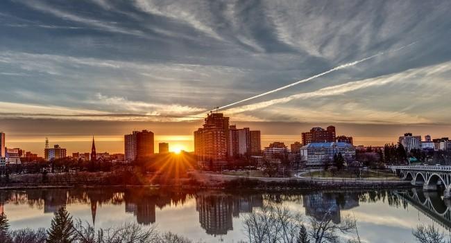 Sunset, Saskatoon