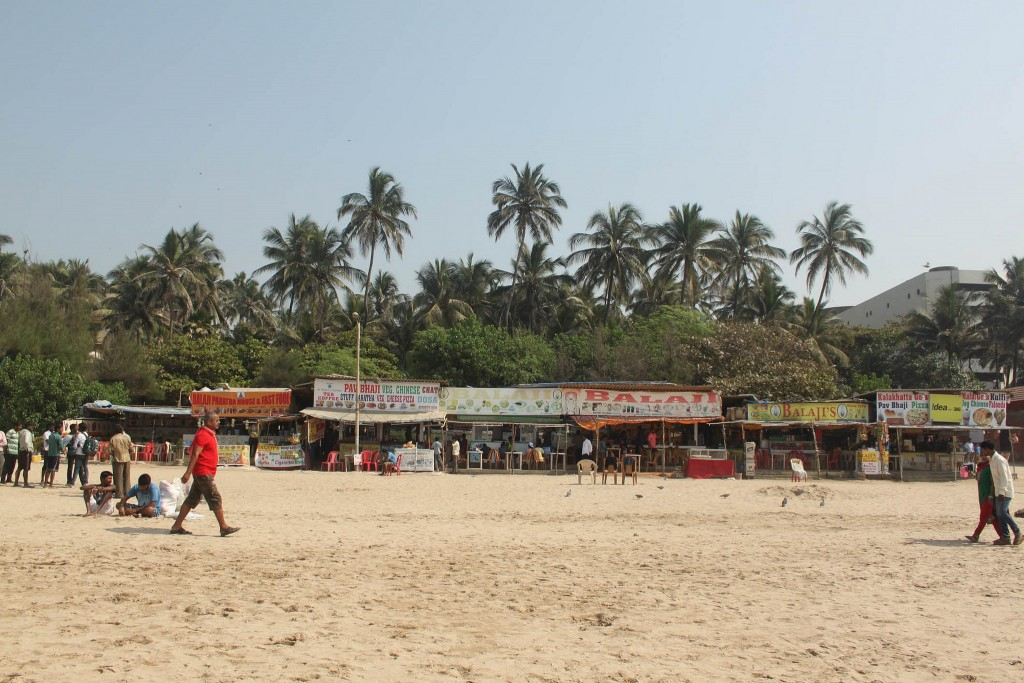 Juhu Beach Stalls | ©TimInIndien/Flickr