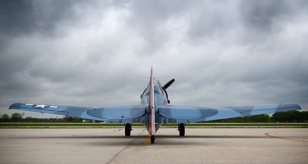 Blue Plane, Fredericksburg Texas © Flickr