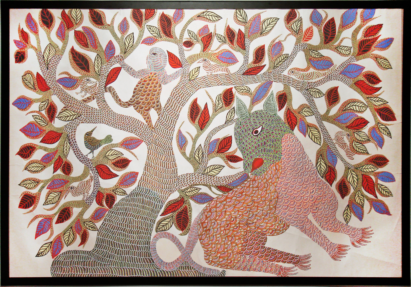 Gond Art | © Jean-Pierre Dalbéra / flickr