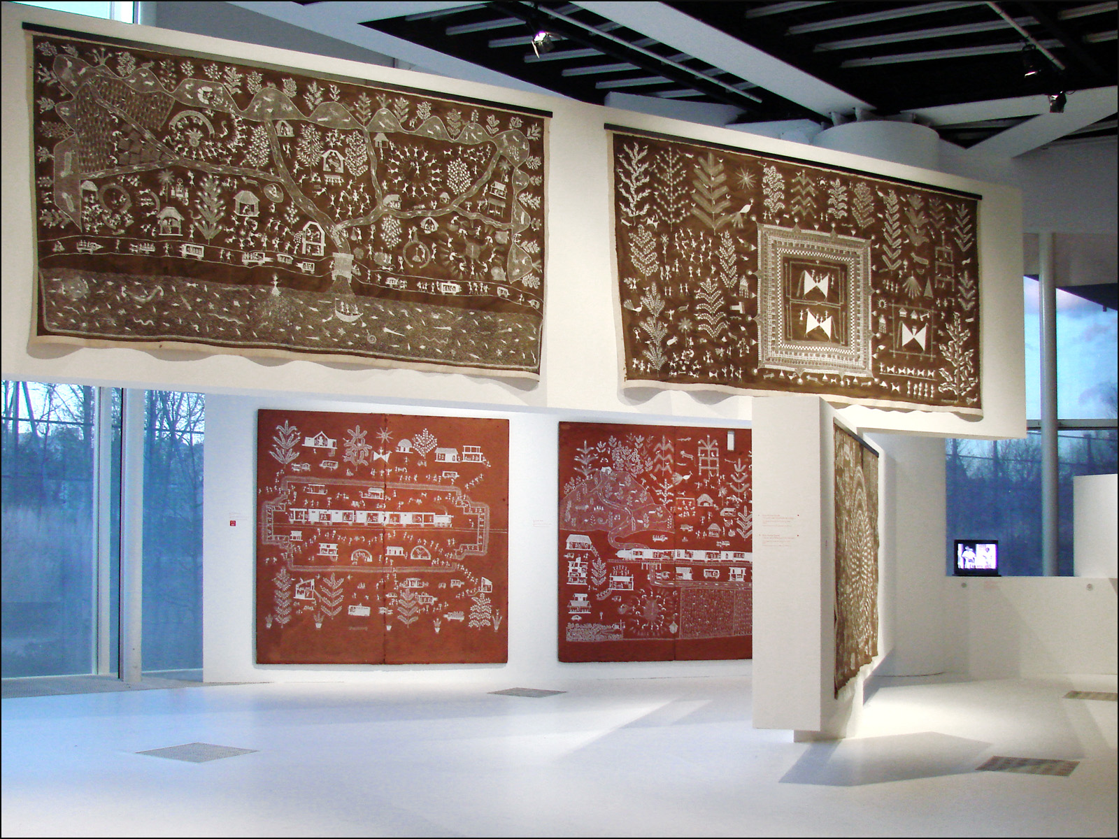 Warli Art at the Musée du Quai Branly | © Jean-Pierre Dalbéra / flickr