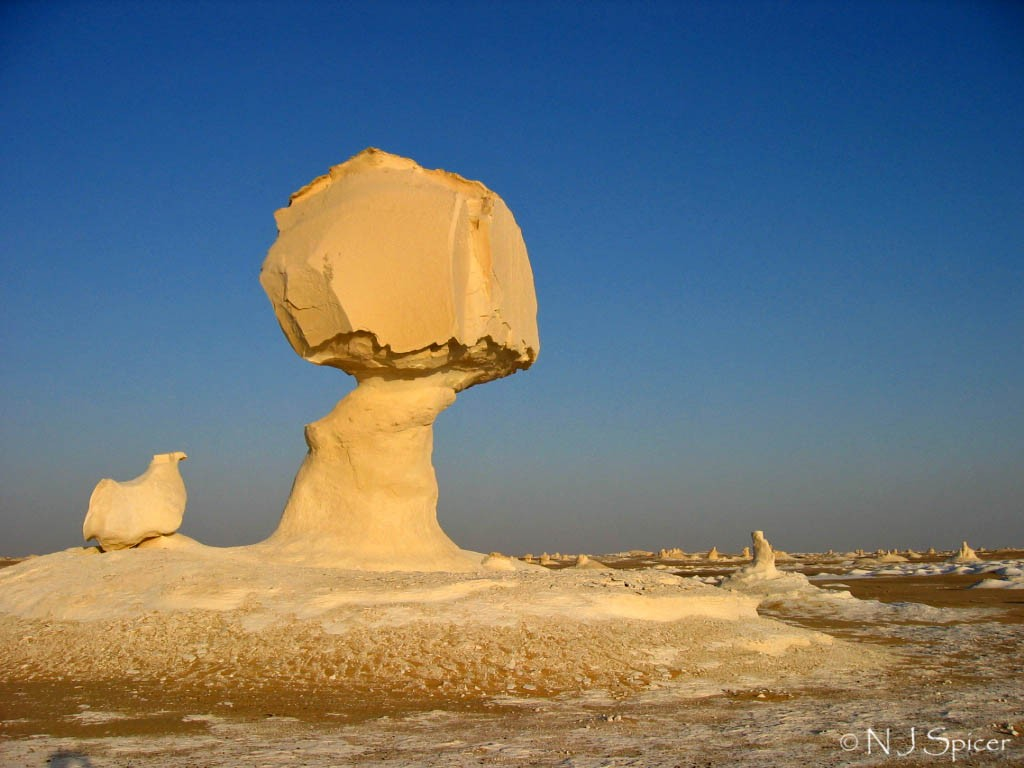 White Desert, Egypt | ©neiljs/Flickr