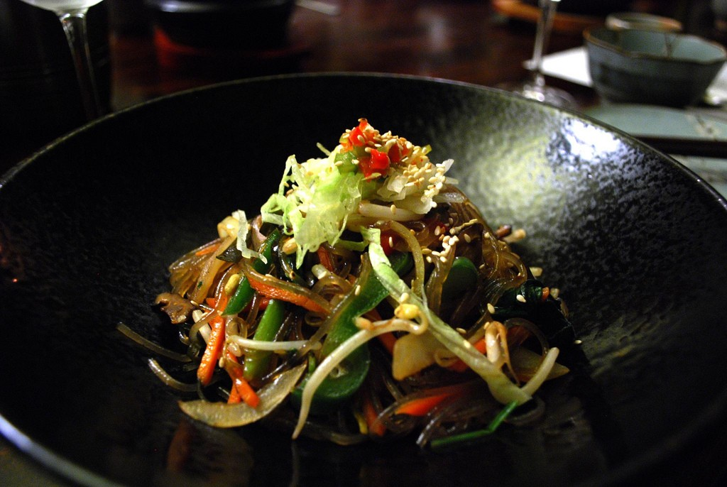 Japchae - Stir Fried clear noodles © Alpha
