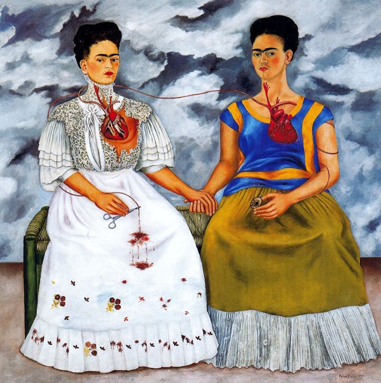 [ K ] Frida Kahlo - Two Fridas (1939) (possible allusion to the 'Gabrielle d'Estrées and one of her sisters') | © cea +/Flickr