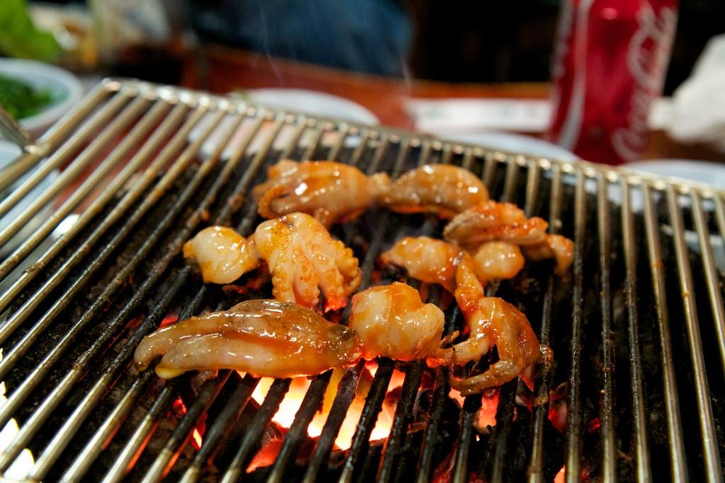 Grilled Octopus | ©Ben Husmann/Flickr