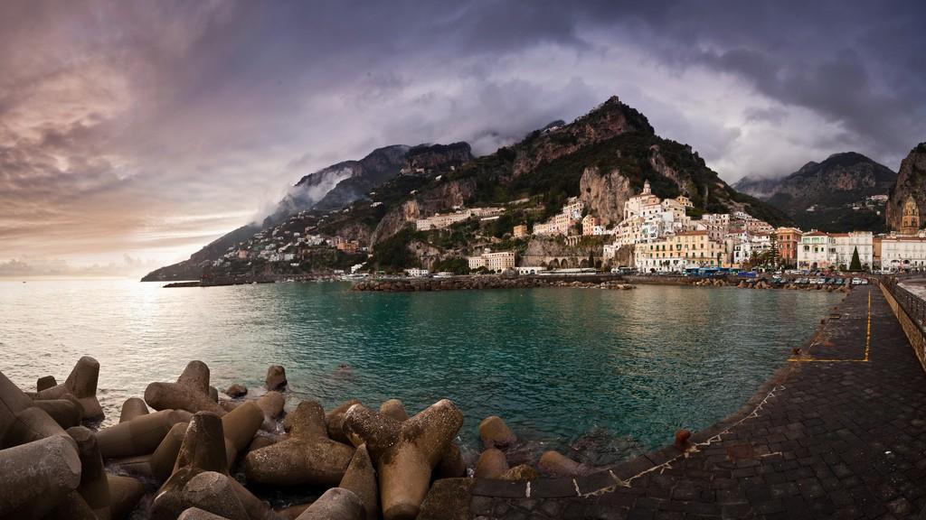Amalfi Italy © Benson Kua