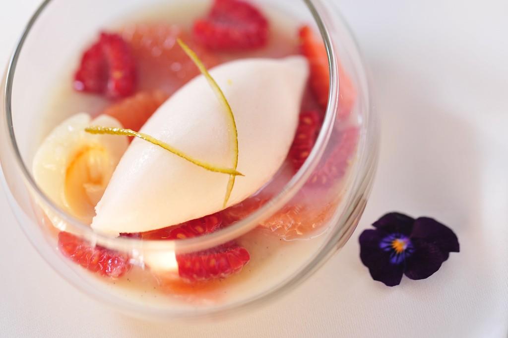 Blanc Manger | ©InterContinental Hong Kong/Flickr