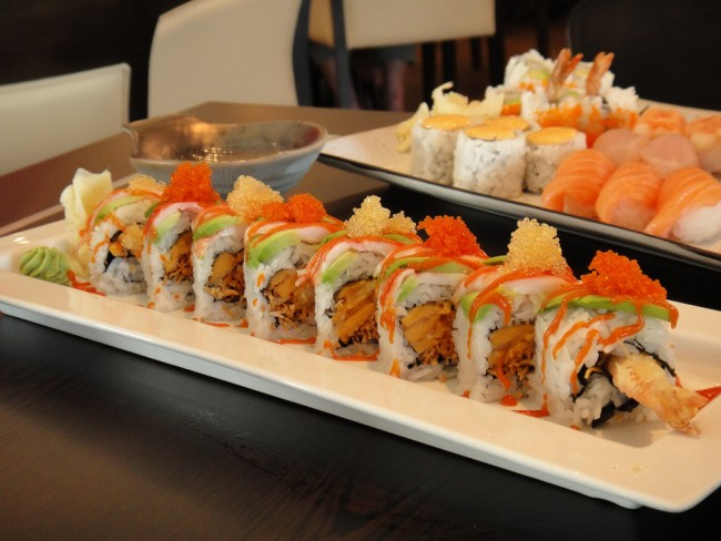 Sushi Rolls © Calgary Reviews