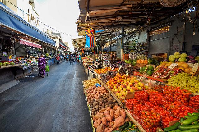 Carmel Shuk, Tel Aviv |© Jorge Láscar/Flickr
