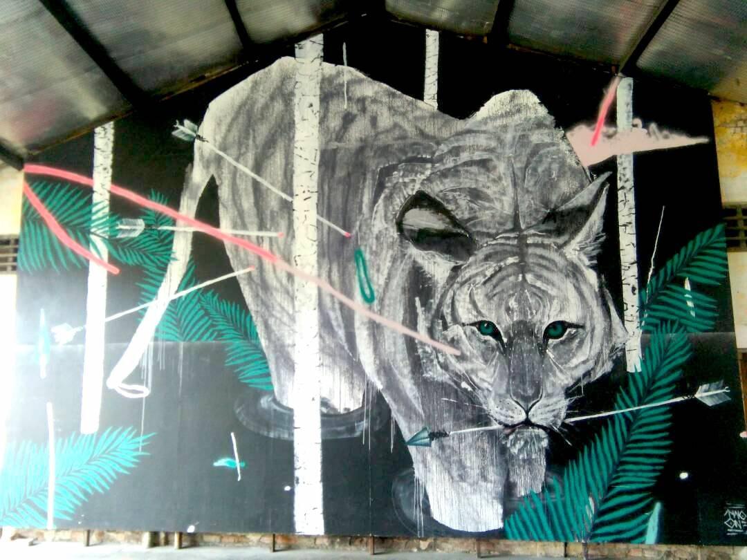 Culture Trip - Penang street art - malayan tiger