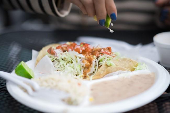 Fish Taco   © Leo Chiou/WikiCommons