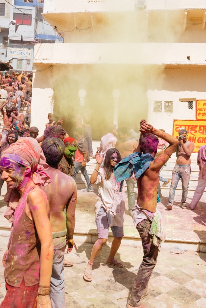 Holi Festival-Pushkar-India-Prakesh