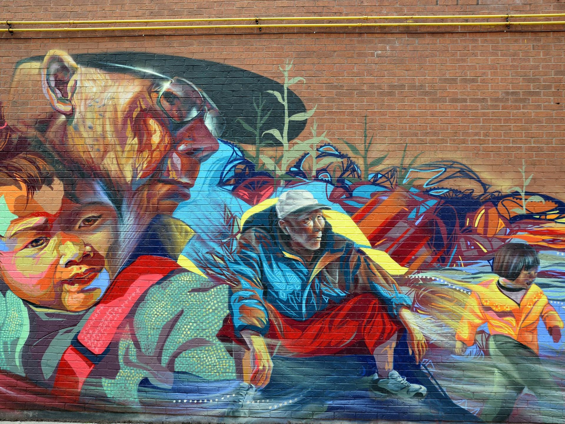Toronto is well known for its Street Art © Jonas Jovaisis