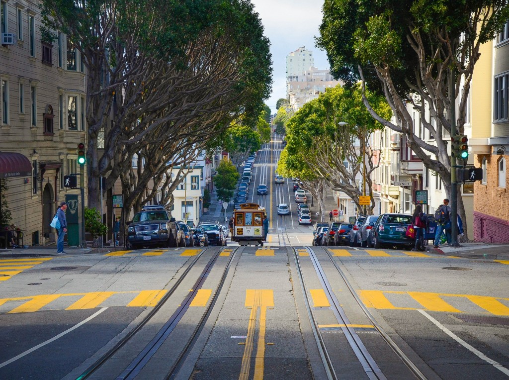 The trams are legend and a must do in San Francisco © suyashdixit