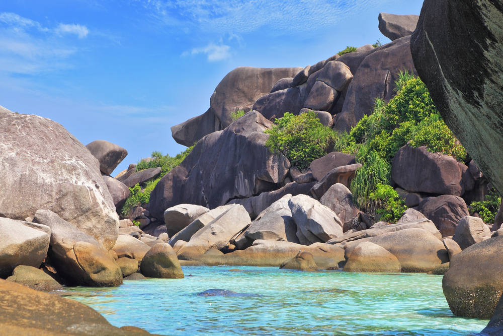 Rock formations of the Similan islands | © kavram/Shutterstock